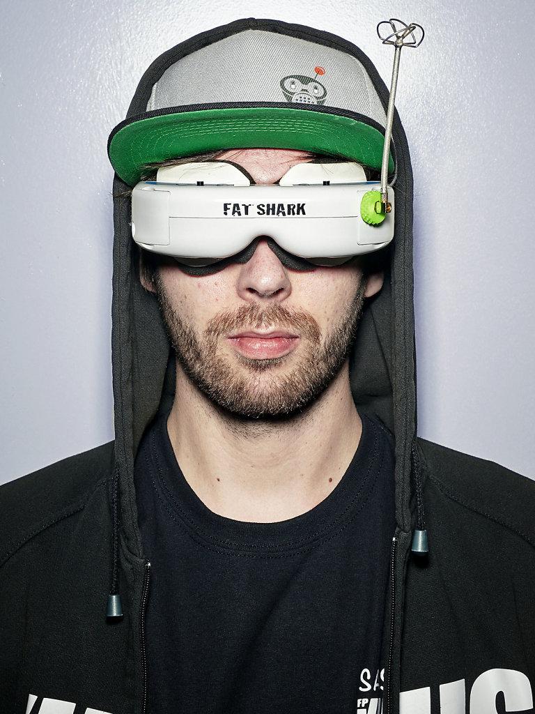 Portrait Sascha_Team Virus_Dronemasters_Cebit Hannover