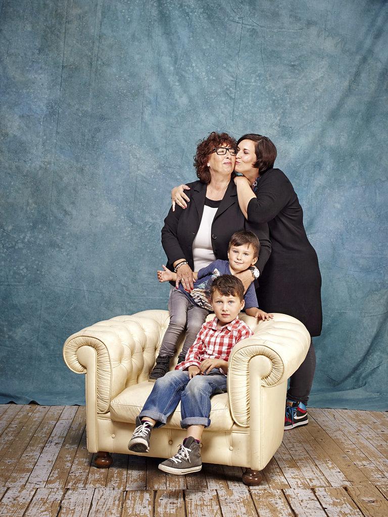 Nadine Mignona_ihre Mutter_ihre Kinder